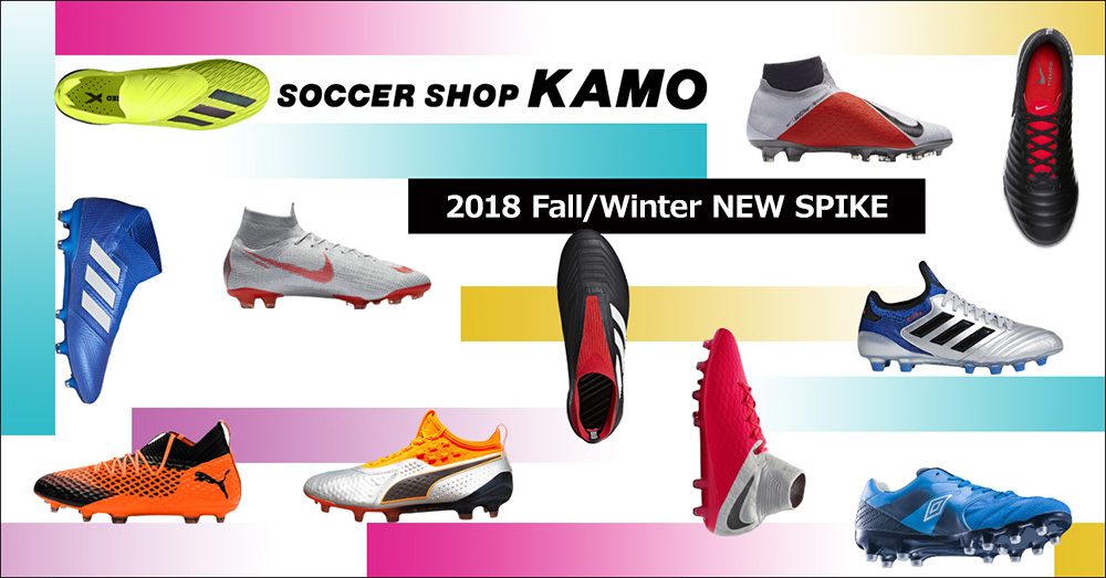 2018 FALL/WINTER NEW SPIKE_1000x523_1のバナーデザイン