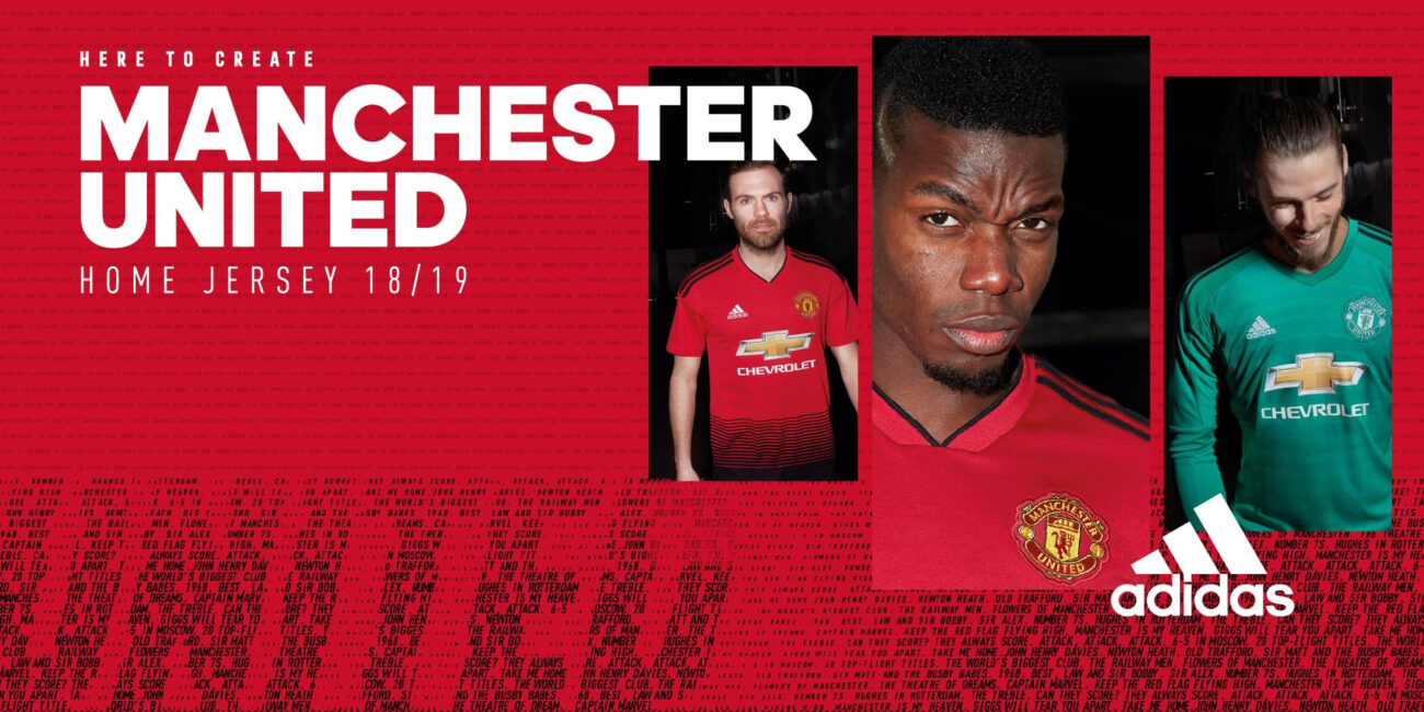 MANCHESTER UNITED 2018/2019HOMEJERSEY_1920x960_1のバナーデザイン