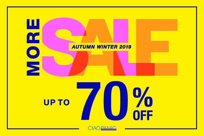 CIAO PANIC_AUTUMN WINTER 2019_SALE_710 x 473のバナーデザイン