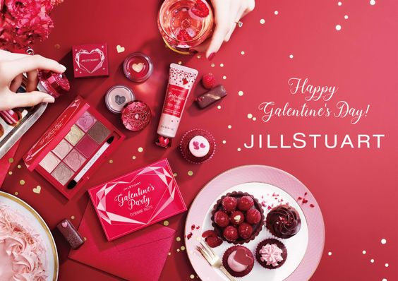 JILLSTUART_Happy Valentine's Day!_564 x 398のバナーデザイン